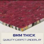 Carpet Underlay - 8mm